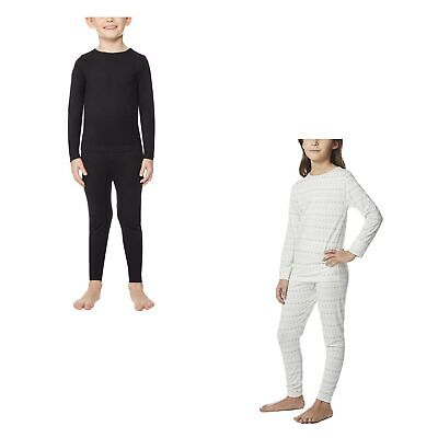 32 Degrees Heat 2 Piece Set Unisex Thermal Base Layer for Kids