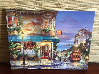 Perspectives in Landscape Nick Hyde San Francesco Wall POSTER 19x25