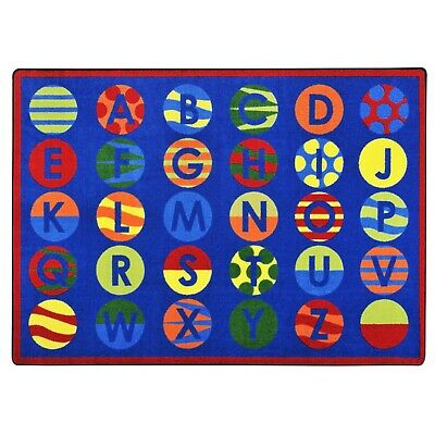 IncStores Joy Carpets Alphabet Patterns Kids Rug/Mat
