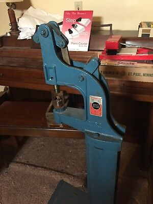 Stimpson #489 Eyelet Grommet Foot Powered Automatic Feed Machine