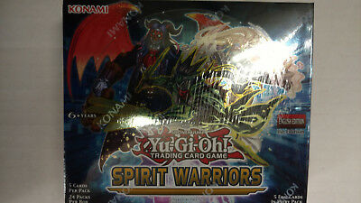 Yugioh Tcg Spirit Warriors Booster Box Sealed New!