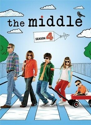 THE MIDDLE SEASON 4 New Sealed 3 DVD Set