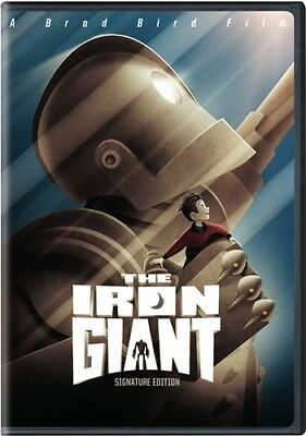 THE IRON GIANT New Sealed DVD Signature Edition