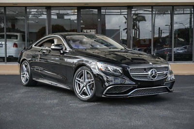 """2015 Mercedes-Benz S-Class 2dr Coupe S 65 AMG RWD '15 Mercedes Benz S65 AMG,621 HP,20"""" Forged Wheels,Night View Assist,Head Up."""