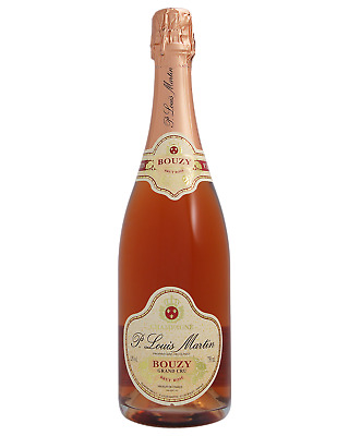 Paul Louis Martin Grand Cru Rose Brut Champagne Sparkling 750mL case of 6
