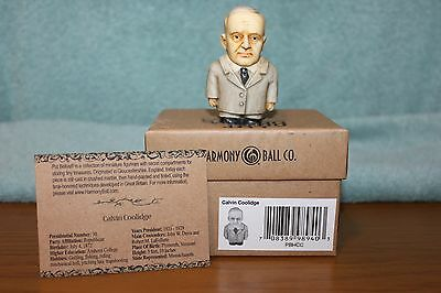 CALVIN COOLIDGE Harmony Ball POT BELLYS Harmony Kingdom PBHCC