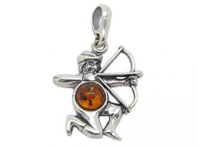 Amberta® Designer Solid Sterling 925 Silver with Genuine Baltic Amber...