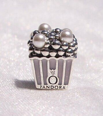 NEW Authentic Pandora Silver Pink White Crystal Pearls Charm 797213EN160