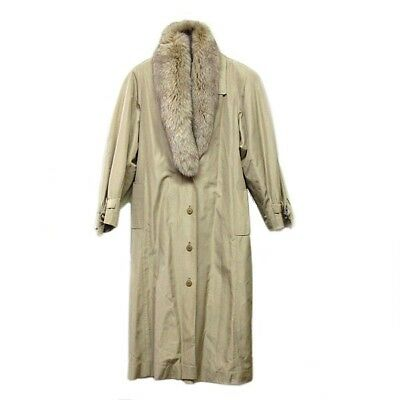 EMBA Emba Court Fur Trench Court Free Shipping [Used]