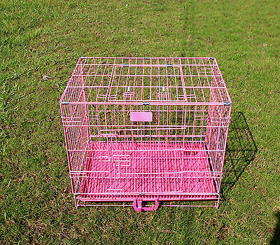 Quality Dog Cage Puppy Small Crates Medium Large Pet Carrier Training Cage UK