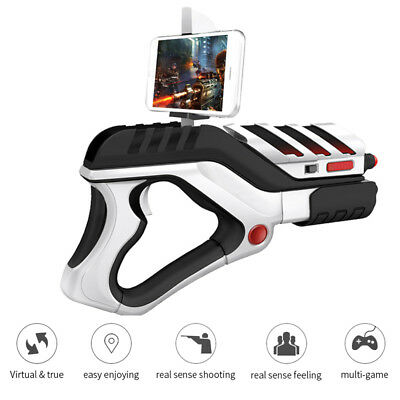 541335aec0db AR Gun Augmented Reality Bluetooth Console Phone Holder Shooting Game  Controller