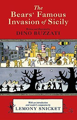 The Bears' Famous Invasion of Sicily by Snicket, Lemony Book The Cheap Fast Free