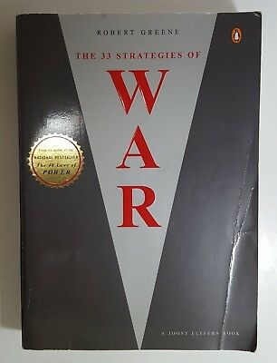 The 33 Strategies of War by Robert Greene (English) Joost Elffers Paperback