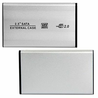 2X(Portable USB 2.0 SATA Case 2.5 Inch Mobile External Hard Disk Drive HDD EnW8)
