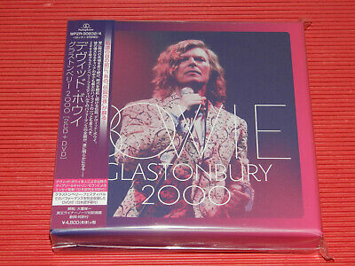 2018 Japan David Bowie Glastonbury 2000 Two Cd + Dvd Box