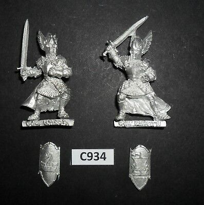 Warhammer Lord of The Rings LOTR Metal KNIGHTS OF DOL AMROTH X2 C 934