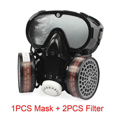 9600 Full Face Dust Gas Mask Respirator Effectively Filter All Kinds Particles