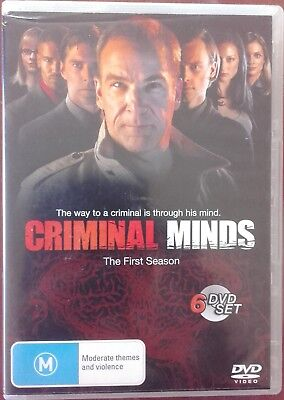 Criminal Minds Season 1 Dvd - Used Very Good Condition - R4