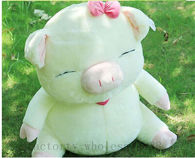 60cm Big lovely pig doll cute smile pig  plush Baby toys doll kids Xmas gifts