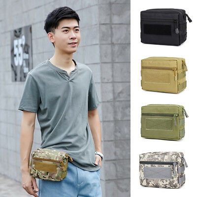 Metal Detector Camoflage Bag Finds Pouch Hip Waist Bag for Metal Detecting