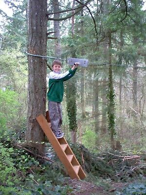 150' Zip Line Kit, Trolley, Cable Ride, High Quality Zipline, 11 Years on Ebay!