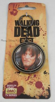 Nuovo AMC The Walking Dead Daryl Spinner Portachiavi Portachiavi