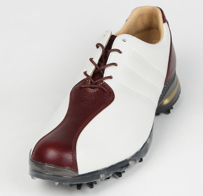 the best attitude b6cc3 f6c99 Adidas 2017 Mens Golf Shoes AdiPure TP Leather Q44796 10-Spikes EMS  RedBrown