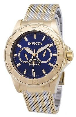 Montre Invicta Pro Diver 24993 Moon Phase analogique Quartz homme