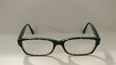 af04eba88f3 COACH HC6040 BROOKLYN 5116 Dark Tortoise   Teal Eyeglass Frames Used ...
