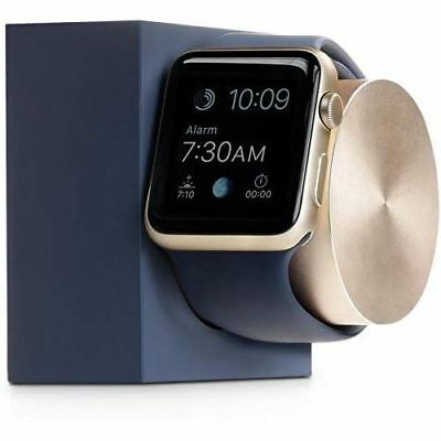 Native Union Weighted Charge Dock Nightstand Charging Holder for All Apple Watch