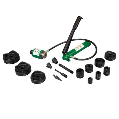 """Greenlee 7310SBSP SPEED PUNCH Kit with Hydraulic Pump & Ram, 1/2"""" to 4"""" Conduit"""