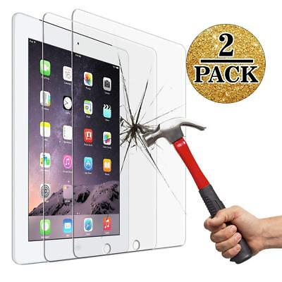 2Pack 9H Tempered-Glass Film Screen Protector Cover for Apple iPad 2 3 4 US Ship