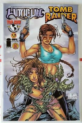 Witchblade Tomb Raider #1/2 DF EXCLUSIVE Michael Turner Variant NM Top Cow 2000