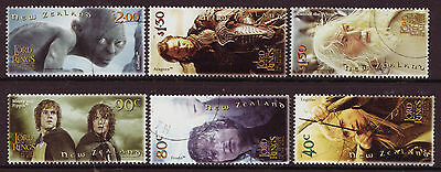New Zealand 2003 Lord Of The Rings Part 3 Fine Used