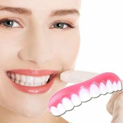 Perfect Smile Veneers Snap On Instant Smile Fix Cover Teeth Whitening Cosmetic