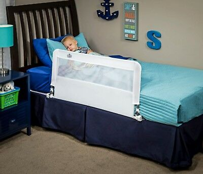 Bed Rail Regalo Hide Away Bed Rail 43 Inches Long in White for Ages 2 to 5