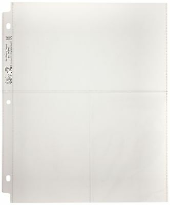 We R Memory Keepers Ring Photo Sleeves 8.5-inch X 11-inch 10/Pakage Two 6-inc...