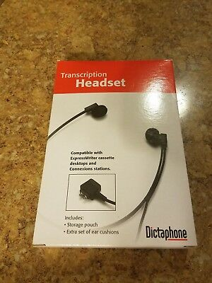 Dictaphone 2000031 (142424) Twin Speaker Under-chin Transcription Headset