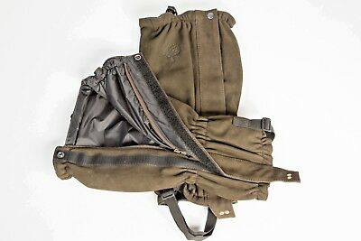 Oakes Nubuck Leather Hunting Gaiters