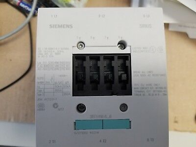 Siemens 3 Pole 3 Phase Contactor 3ZX1012-0RT05-1AA1 110-127V