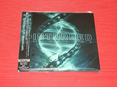 2018 JAPAN CD DISTURBED Evolution DIGI SLEEVE with Sticker (Inserted)