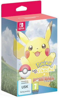 Pokemon: Lets Go Pikachu (Switch) + Pokeball Plus