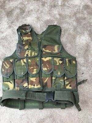 VIPER CAMOUFLAGE VEST ONE SIZE FITS ALL. IDEAl FOR FANCY DRESS