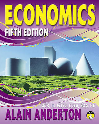 A Level Economics Student Book, Anderton, Mr Alain, New, Paperback