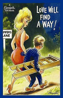 Love Will Find a Way! by Bamforth & Co (Hardback) NEW Gift Book