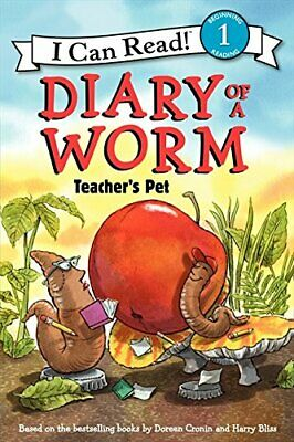 Diary of a Worm: Teacher's Pet (I Can Read) by Cronin, Doreen Book The Cheap