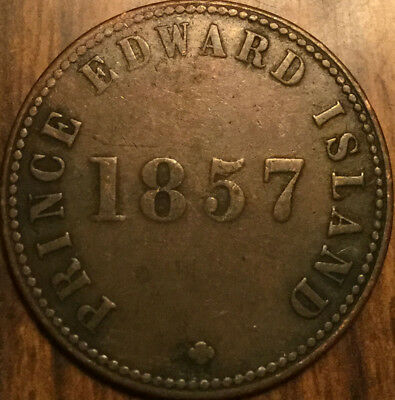 1857 PEI SELF GOVERNMENT AND FREE TRADE HALFPENNY TOKEN - Breton 919 - Medal