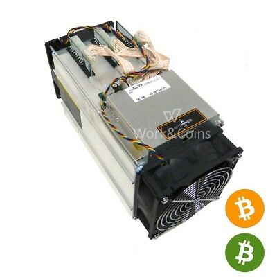 AntMiner V9 ~4TH/s @ 0.253W/GH Bitcoin / Bitcoin Cash ASIC Miner