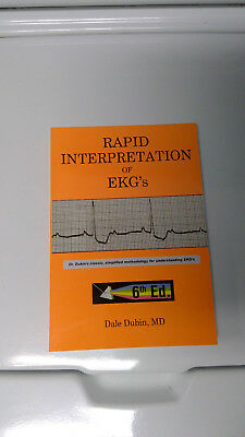 Rapid Interpretation of EKG's by Dale Dubin, Paperback, 6th Edition