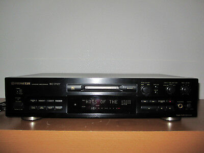 PIONEER MJ-D707 High-End MD-Recorder BDA, FB + 6 x MiniDisc´s Rekorder Player